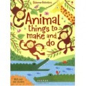 ANIMAL THINGS TO MAKE AND DO (4+ AÑOS)